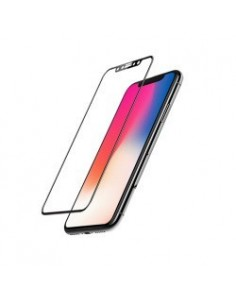 MOCOLL 2nd Generation Tempred Glass Fullcover 3D pour Apple Iphone XR (6,1) noir
