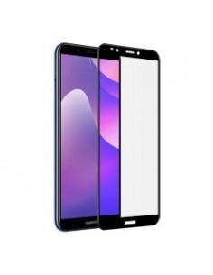 Star-Case® Fullcover 3D Tempered Glass pour Huawei Y7 2018 noir