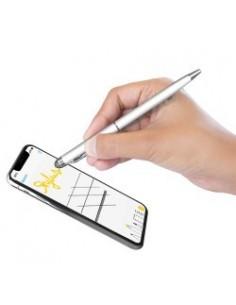 Touchscreen-Stift Stylus Pen 2in1 Model-03 Argent