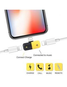 Adaptateur Chargeant et ├®coutant de la musique pour iPhone 7/8/X/XS/XR