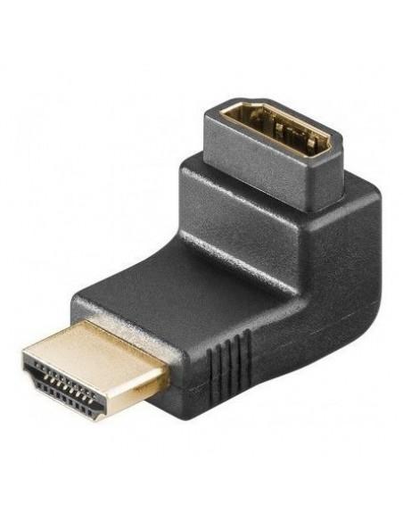 DMK Adaptateur HDMI 90° Mâle / Femelle sous Blister