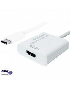 DMK Adaptateur Type C mâle - HDMI femelle sous blister