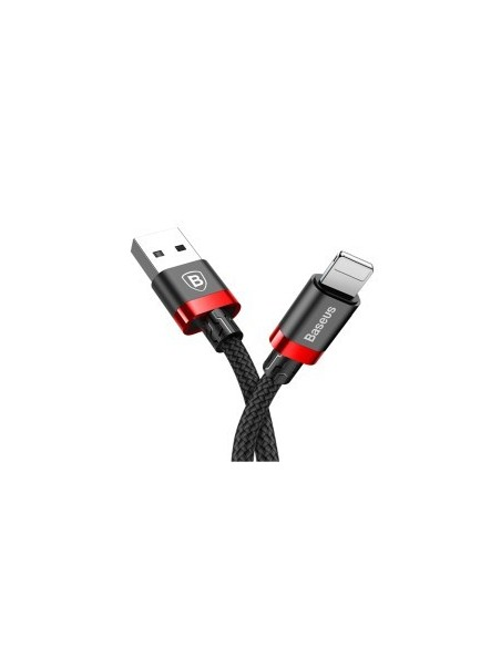 Baseus Golden Belt Series Câbles Data pour Apple Lightning 1.5M noir - Rouge