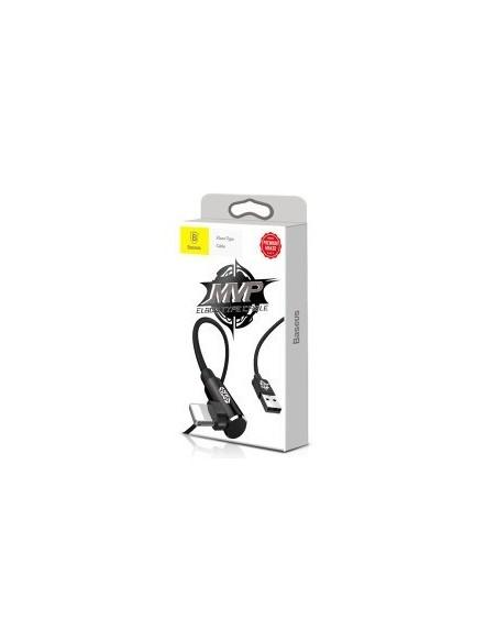 Baseus MVP Elbow Type CABLE Câbles Data pour Apple Lightning 1m noir