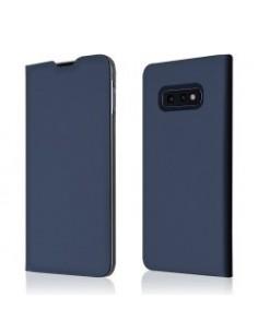 """Star-Case"" ® Book Case ""Milo"" pour Samsung G970F Galaxy S10E Navy Blue"