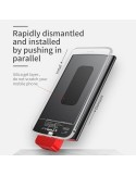 Baseus Power BANK New ENERGY Backpack pour Apple Iphone 4000mAh noir - Rouge