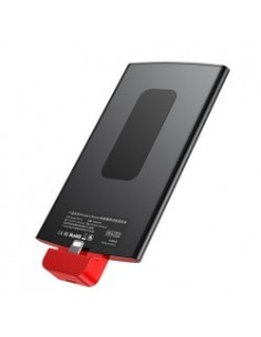 Baseus Power BANK New ENERGY Backpack pour Apple Iphone 4000mAh noir - Rouge