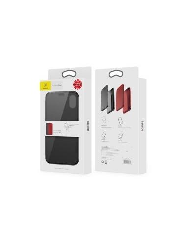 Book Case Baseus Touchable pour Apple Iphone X / XS (5,8) noir