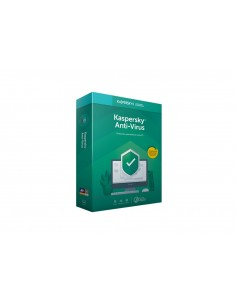 Kaspersky Anti-Virus 3-PC 1 an