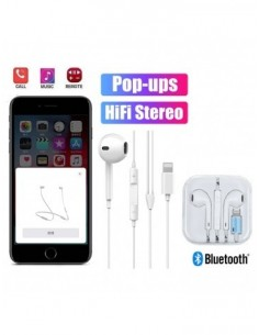 Écouteurs Lightning iPhone 7 8 Plus XR XS Max Bluetooth Casque+Pop-ups+Contrôle