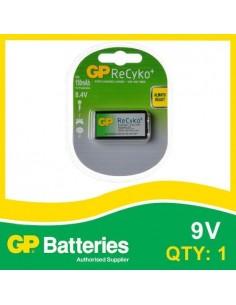 GP Blister ReCyko 9V 150mAh