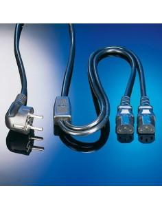 Value cable Y alimentation 220v Shuko 1m80 vrac