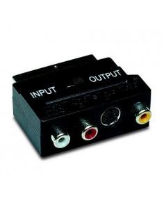 DMK Adaptateur péritel/3 cinchs + S-VHS in/out sous blister