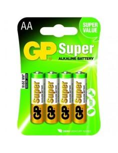 GP Blister 4 piles AA - Mignon SUPER Alkaline