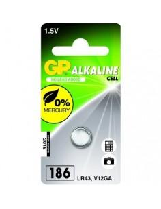 GP Blister 1 pile 186 - V12GA / L 1142 -LR43 alkaline