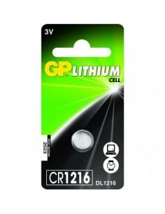 GP Blister 1 pile CR1216 llithium