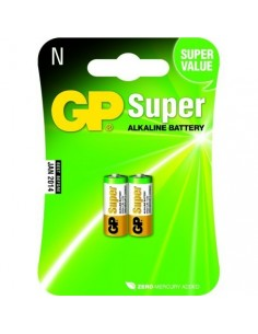 GP Blister 2 piles LR01 910A N Lady SUPER Alkaline