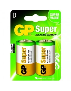GP Blister 2 piles D - Baby SUPER Alkaline