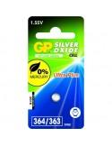 GP Blister 1 pile 364 - SR621-SR60 Oxyde argent