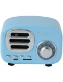 TECHLY BLUETOOTH WIRELESS SPEAKER CLASSIC RADIO DESIGN