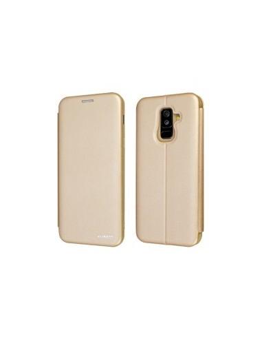 Book Case XUNDD Saina Series pour Samsung A605F Galaxy A6+ 2018 Or